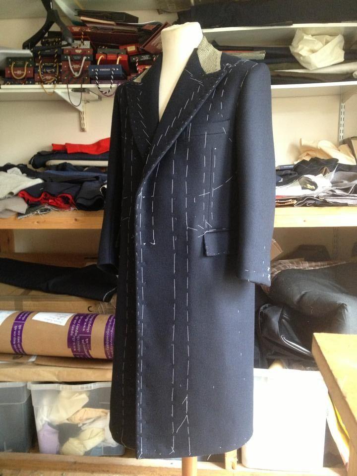 Learn how to make an overcoat!! info@savilerowtraining.co.uk