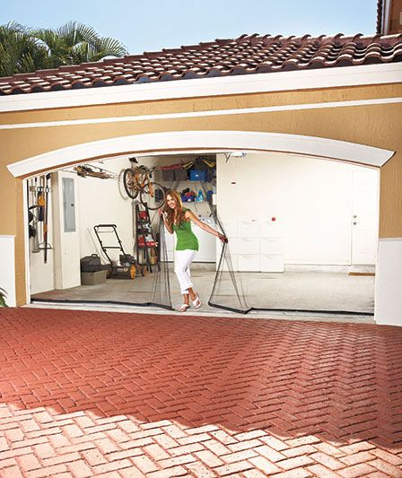 garage screen doors starting as low as 995 good idea for my hubby who likes