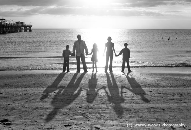 Love the silhouettes and shadows!!  Wow!