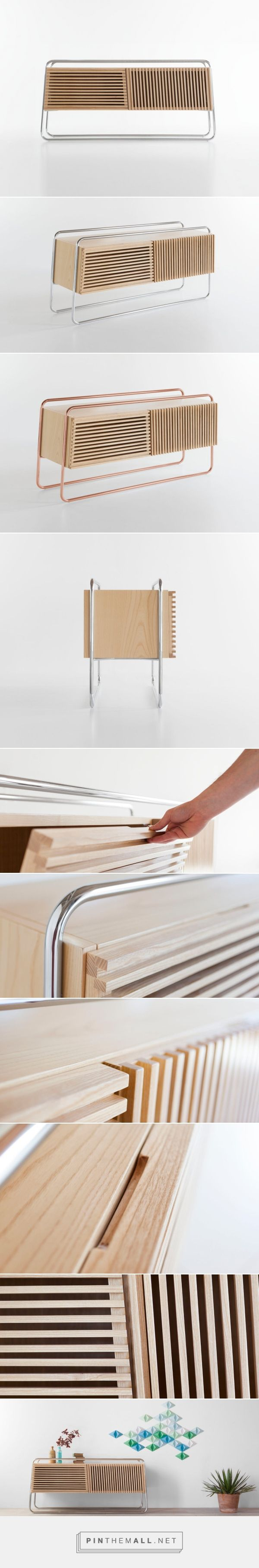A Sideboard Inspired by the Modernist Movement - Design Milk... - a grouped images picture - Pin Them All