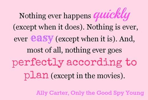 Spy Quote: 222 Best Images About Gallagher Girls On Pinterest