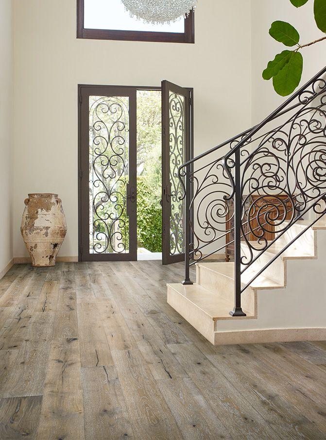 2 Tone Hardwood Flooring - Chalmers Dusk French Oak