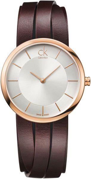 Женские швейцарские наручные часы Calvin Klein K2R2S6G6