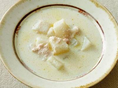 長芋とたらこのクリームスープレシピ 講師は大庭 英子さん|使える料理レシピ集 みんなのきょうの料理 NHKエデュケーショナル