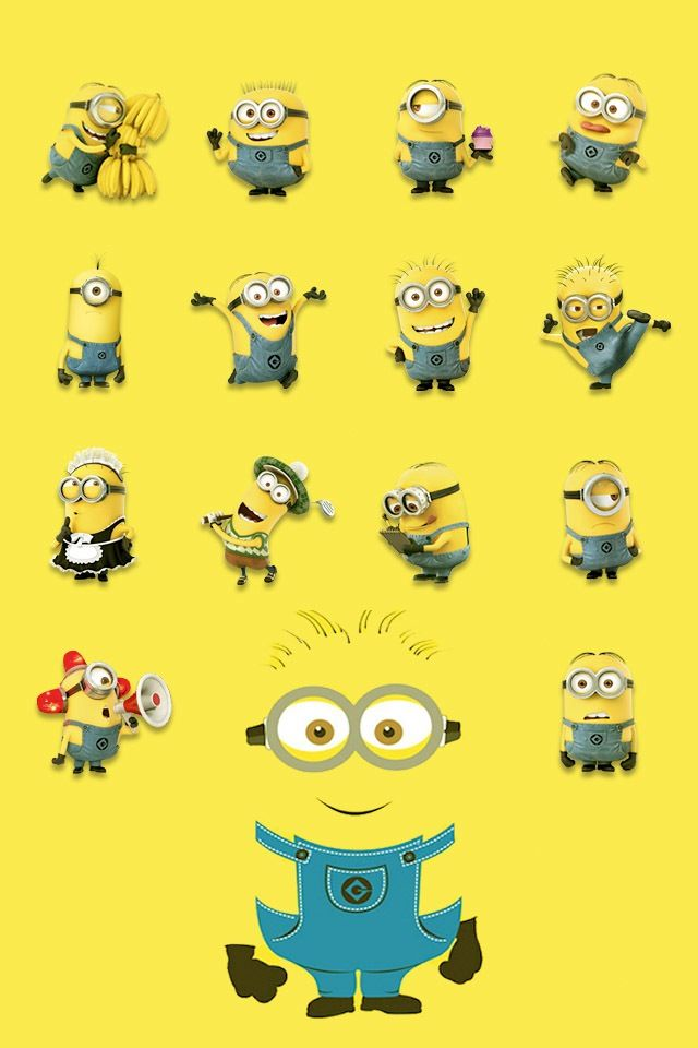 Minions Love Wallpaper For Iphone : Minion wallpaper Wallpaper Pinterest Minion ...