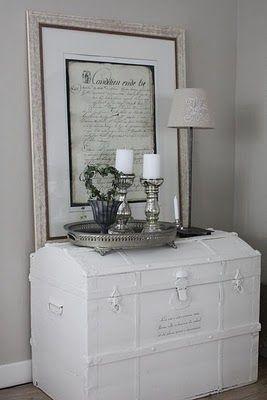 17 mejores ideas sobre muebles blancos antiguos en for Muebles restaurados en blanco