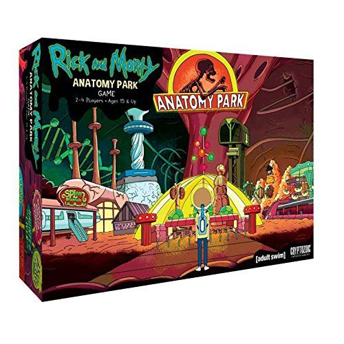 Go deep inside a sick man named Ruben as you try to build the world's greatest theme park inside his organs! Based on the Rick and Morty episode, this strategic game will have you placing ride tiles while battling some nasty diseases.