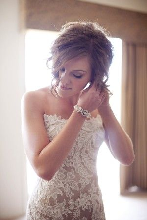 Dress by Ulla-Maija.  Love the nude under-layer.: Lace Weddings, Lace Wedding Dresses, Nude, Gown Wedding, Gowns, Lace Reception Dresses, Bride, Lace Dresses