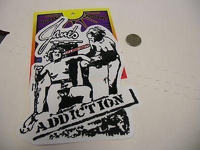 Jane's Addiction I Itz My Party LARGE IRON/SEW ON EMBROIDERED PATCH NEW
