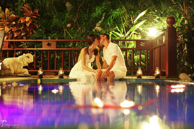 Romantic evening #thailand #romantic #evening #couple Click the picture to see the whole photoshoot!