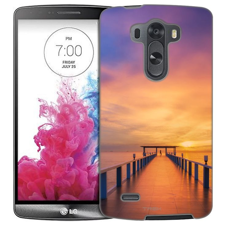LG G3 Sunrise Dock Slim Case