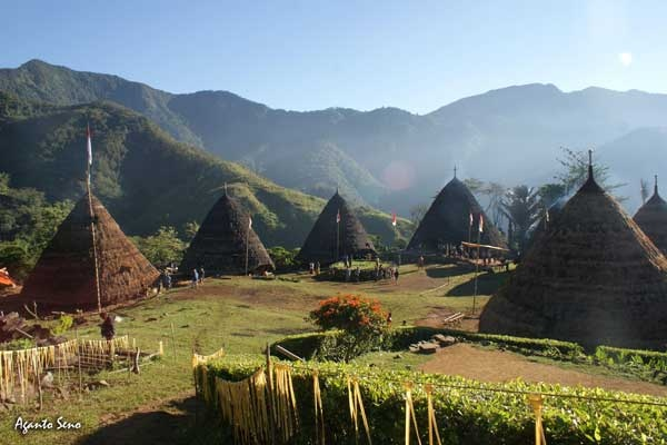 Cone House,  Wae Rebo Village – Flores,  East Nusa Tenggara