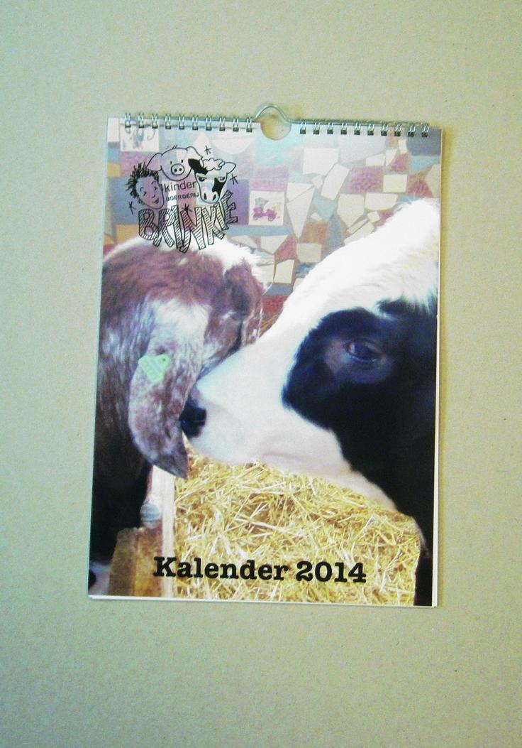 A4 kalender met een haakje
