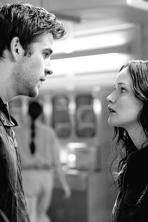 """Eww no. Never going to happen.  Sorry. Gale. Katniss doesn't really love you. Peetas love is """"real"""""""