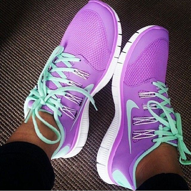 Nike Free 5.0 V4 Purple Yellow White