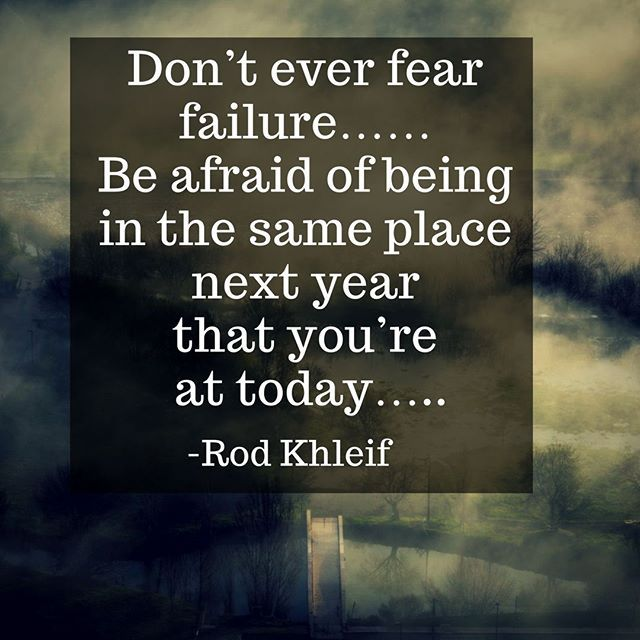 Inspirational Quotes About Failure: 17 Best Fear Of Failure Quotes On Pinterest