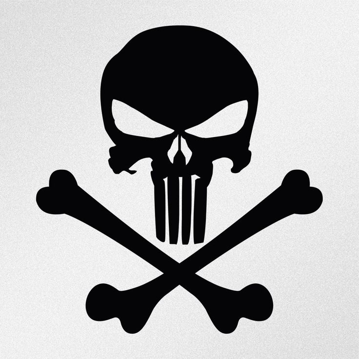 Unique Punisher Skull Decal Ideas On Pinterest Punisher - Cool vinyl decal stickers