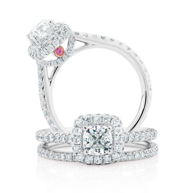 The Michael Hill Designer Bridal Collection | 1.95ct TW Diamond Allegro bridal set.