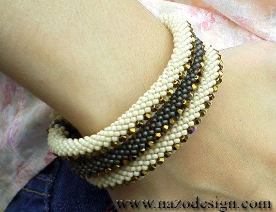 200 best Bead Bracelets 1 images on Pinterest Beaded jewelry