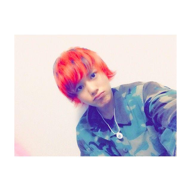 太田 将貴 Shoki Ohta @shshoki_5 #赤黒金メッシュ #...Instagram photo | Websta (Webstagram)