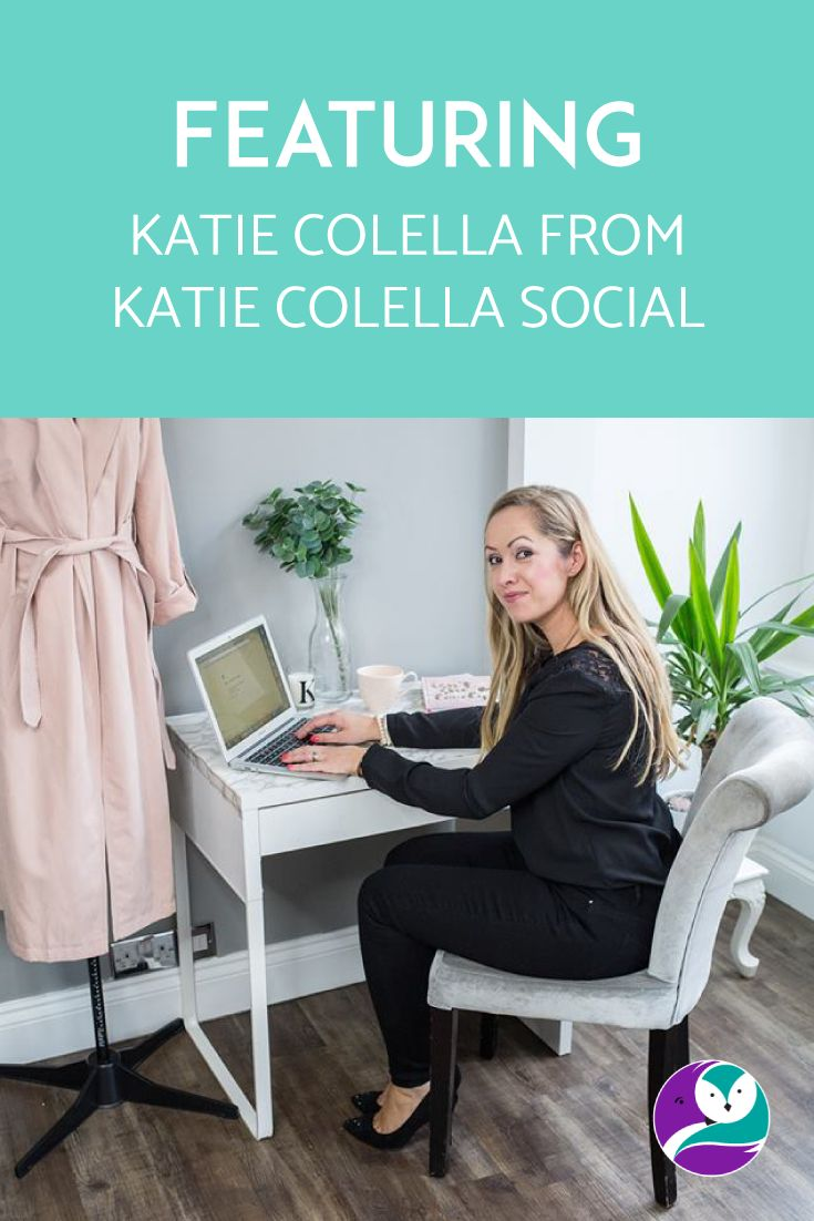 On the blog, I chat to Katie from Katie Colella Social. She's a VA with a whole lot of business experience, and she's such a lovely lady. I'm low-key jealous of her level of fab 😊