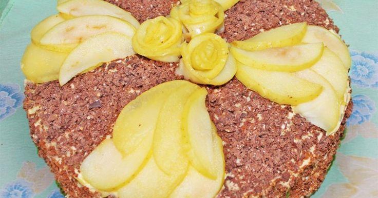 Торт Королевский с маком орехами изюмом