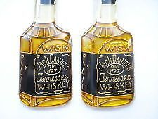SALE RARE VINTAGE JACK DANIELS WHISKEY OLD 7 BOTTLE ALCOHOL ENAMEL PIN BADGE
