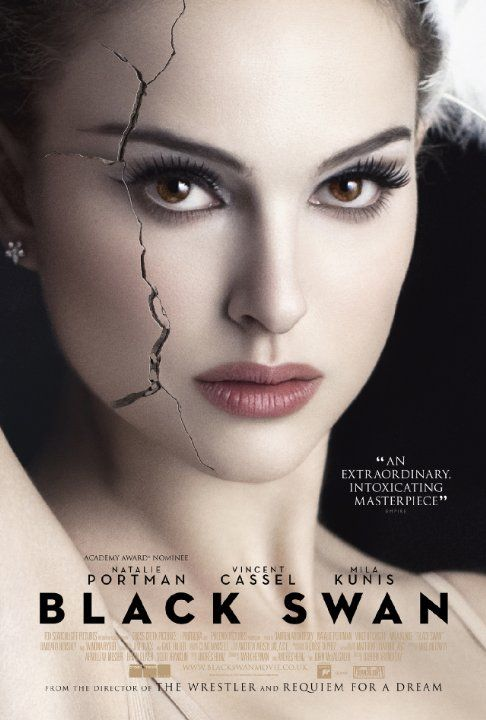 #NataliePortman (Nina Sayers) in *Black Swan* (2010) - OSCAR Best Performance by an Actress in a Leading Role ~ Portman at her best! / / Nina: I came to ask for the part. Thomas Leroy: The truth is when I look at you all I see is the white swan. Yes you're beautiful, fearful, and fragile. Ideal casting. But the black swan? It's a hard fucking job to dance both.  Nina: I can dance the black swan, too. ...................