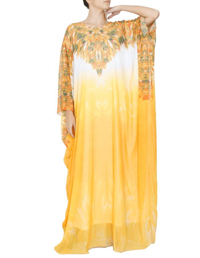 RENK : Sarı AKSESUAR : BeyazAstarlı KALIP : Mankenin Giydiği Beden:38Uzunluk:155 KOL :Uzun Kollu KUMAŞ : Şifon Kumaş MEVSIM : 4 Mevsim Feracemizdış giyim ürünü olarak tercih edilmektedir. Şifon detayları ile süslenmiştir. Her mevsimde tercih edilebilir.  BEDEN VE ÖLÇÜ TABLOSU