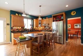 Fiestaware and Susan Jablon: The Backsplash Expert: Teal Wall, Kitchens Design, Cabinets Colors, Kitchens Ideas, Susan Jablon, Kitchens Backsplash, Teal Kitchen, Jablon Mosaics, Kitchens Photos