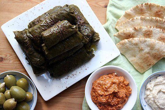 How To Make Your Own Dolmas (Stuffed Grape Leaves)