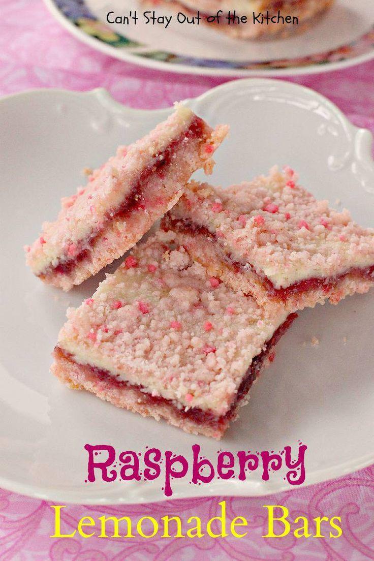 Raspberry Lemonade Bars - 9x13.