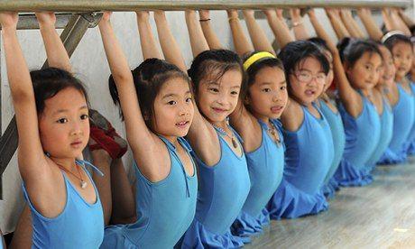 #danceclass+#kids | Children at a dance class in Huoqiu, Anhui Province. Some observers ...