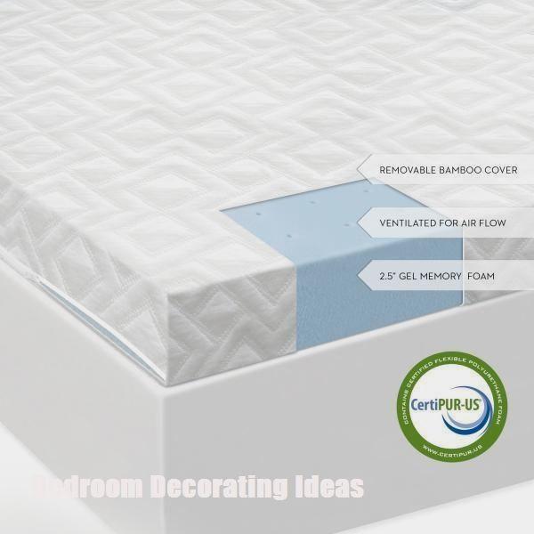 Modern Bedroom Decorating Ideas Memory Foam Mattress Topper Gel Memory Foam Mattress Gel Memory Foam