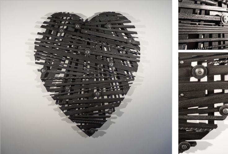 #Fabio #Masotti #cuore #opera #arte #unica