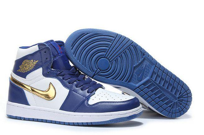 innovative design 710a7 2408a Nike Air Jordan 1 Retro High Gold Medal 332550 406 Deep ...