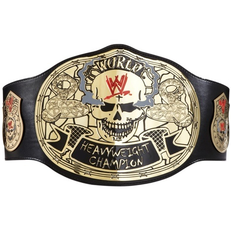 STONE COLD STEVE AUSTIN! ... SCSA!    WWEShop: Stone Cold Smoking Skulls Championship Title Belt