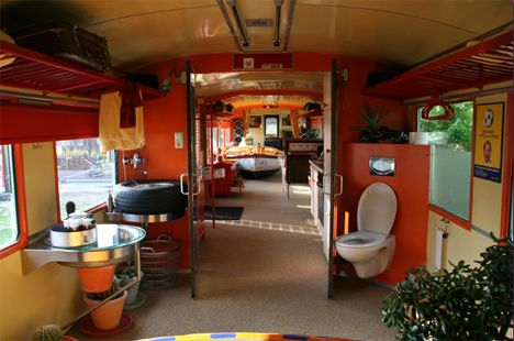 Recycled train car homes tiny houses pinterest for Acheter une maison a bruxelles