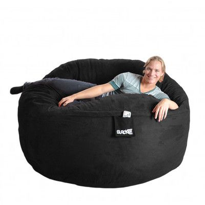 Bean Bag Chair Color Black Size Extra Large