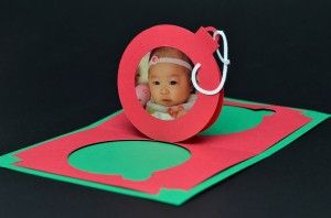 Christmas Ornament Pop Up Card | Creative Pop Up Cards