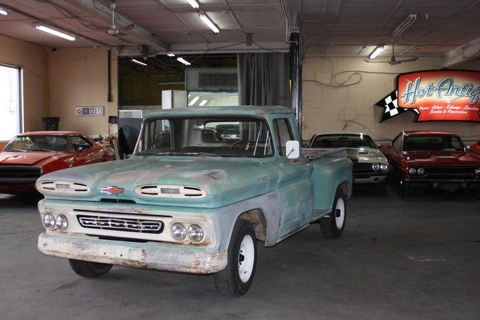 Classic 1961 Chevrolet Apache For Sale 2085097 19 950 St Jerome Quebec Canada Price In Usd 1961 Chevy Apache Engine Is Chevrolet Apache Chevrolet Apache