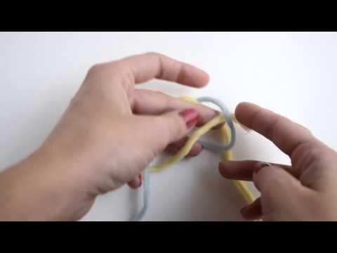 Cómo hacer un nudo invisible para unir dos cabos de lana | The Blog - ES