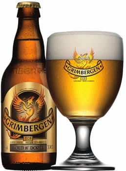Grimbergen - the best Belgian ale ever.  yum yum yum