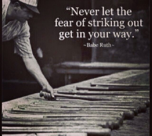 Persistence Motivational Quotes: Baseball Quotes. QuotesGram