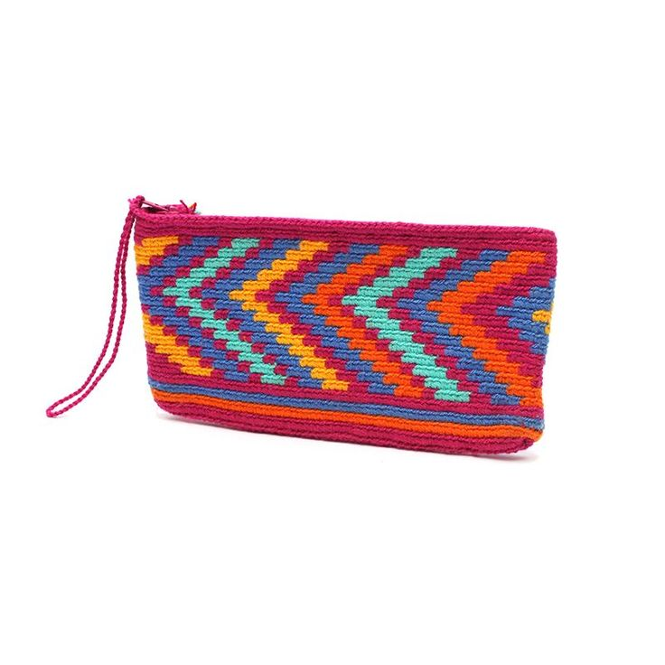Happy+Wayuu+Clutch