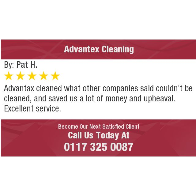 Advantax cleaned what other companies said couldn't be cleaned, and saved us a lot of...