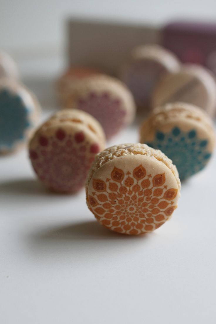 Printed macarons packed in elegant boxes are the perfect gift this Eid. Orders undertaken now.
