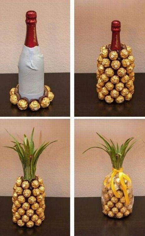 Wine and chocolate pineapple :)