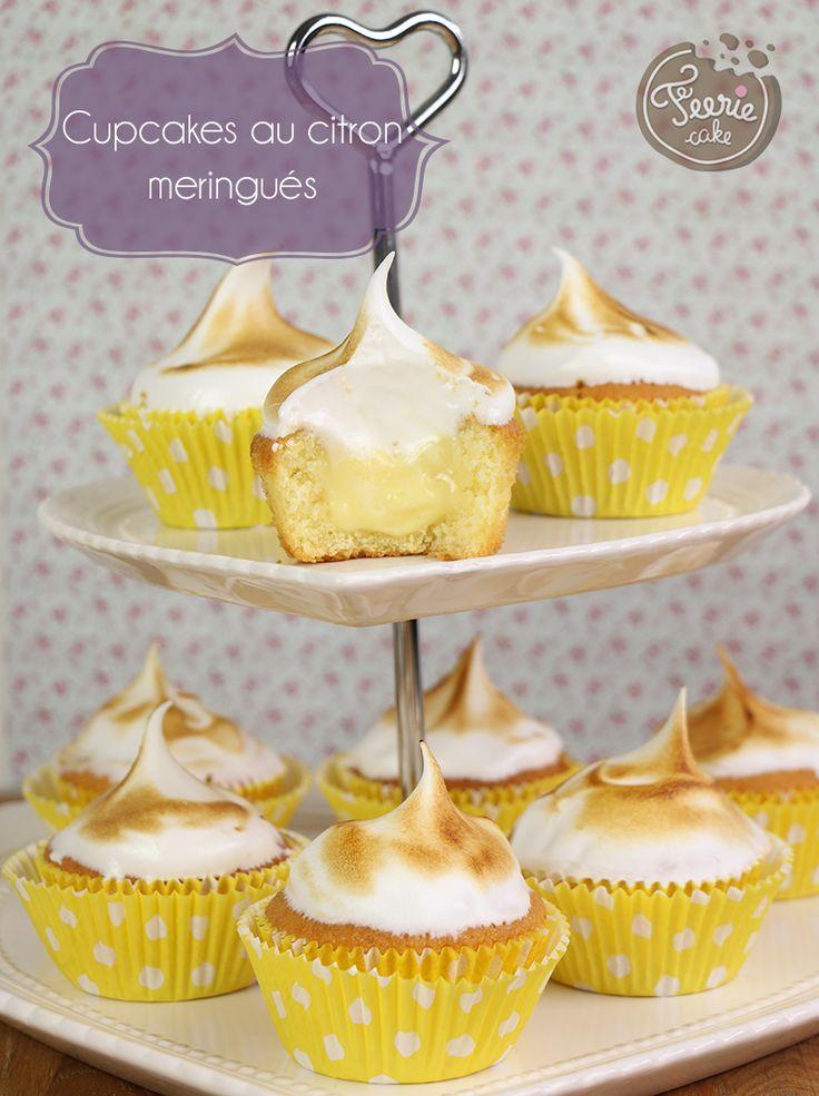 La recette des cupcakes citron meringués est simplement un délice ! Parfaite pour se rafraîchir en été et se réconforter en hiver. Allez-y craquez !