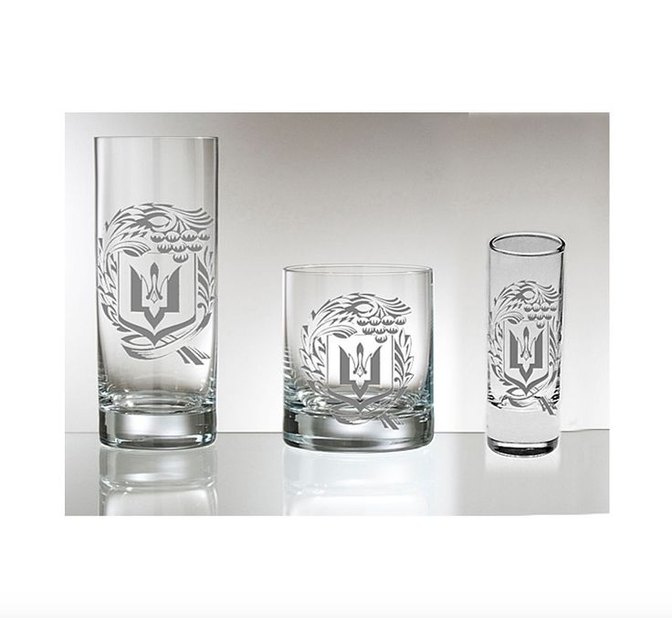 Frosted Ukrainian shot glasses are perfect for Christmas, especially коляда! Будьмо!